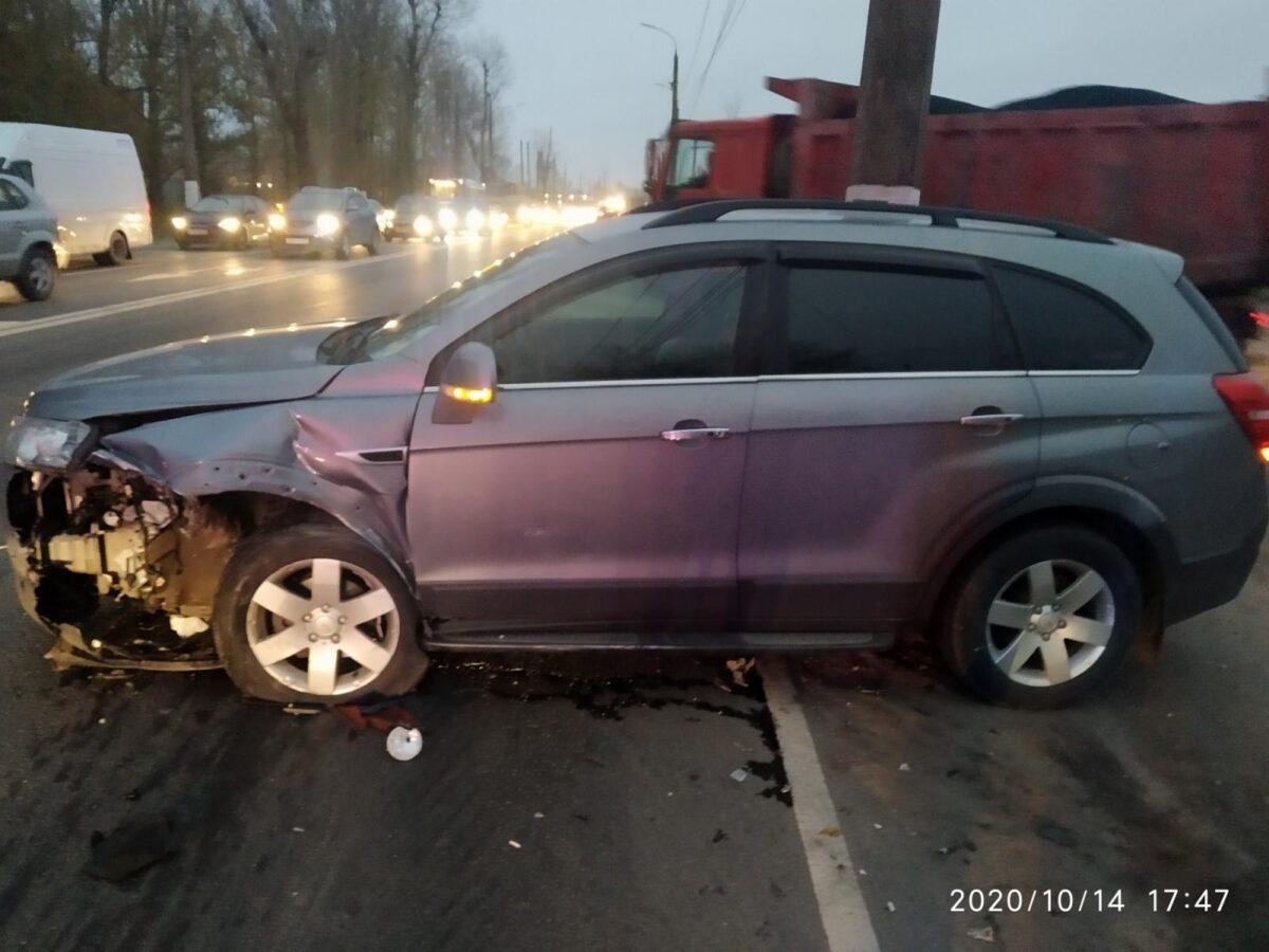 В Твери в столкновении двух машин пострадала 6-летняя девочка
