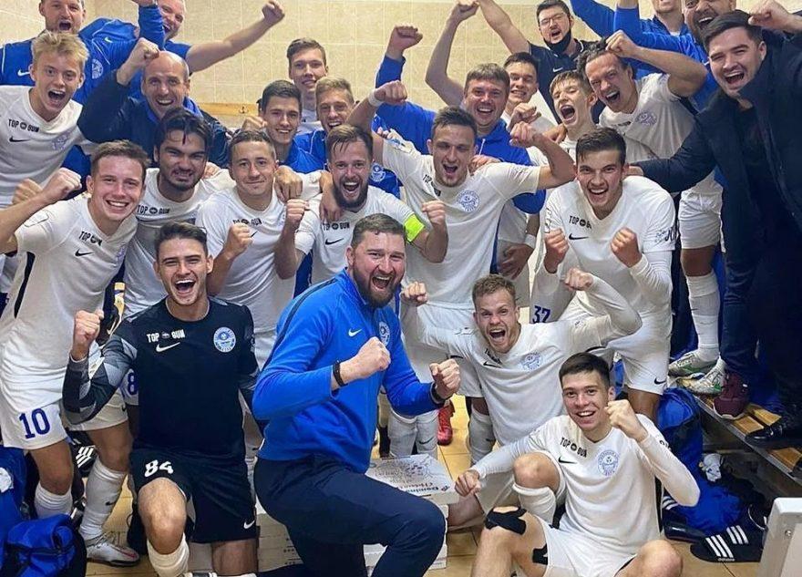 Футбольный клуб «Тверь» одержал восьмую победу в сезоне