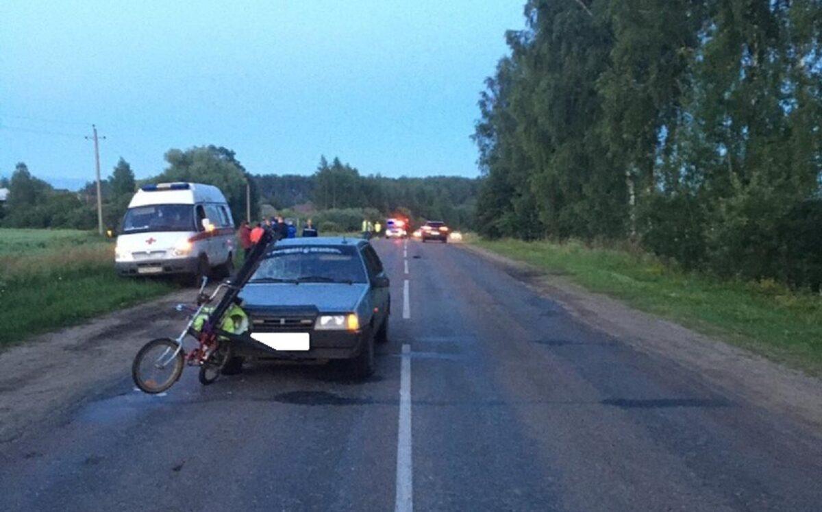 В Тверской области будут судить водителя, который насмерть сбил велосипедиста