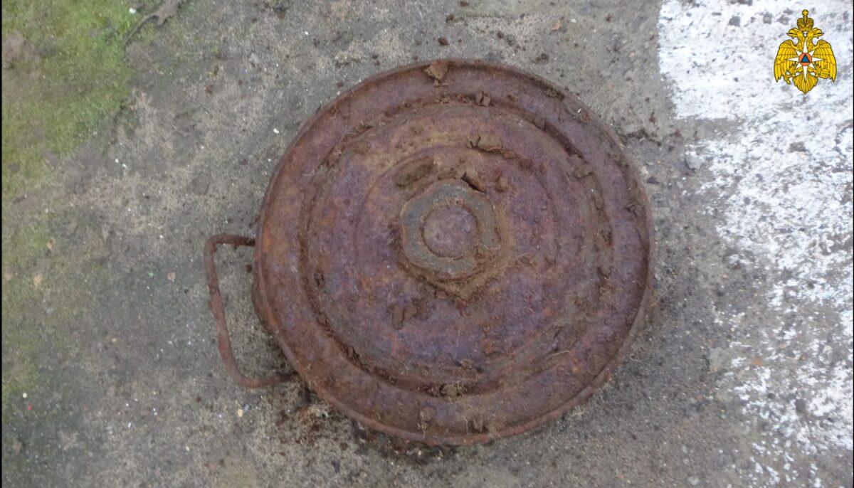 Противотанковую мину времён войны нашли в Твери