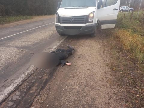 Опубликовано фото с места аварии, в которой погибла тверская пенсионерка