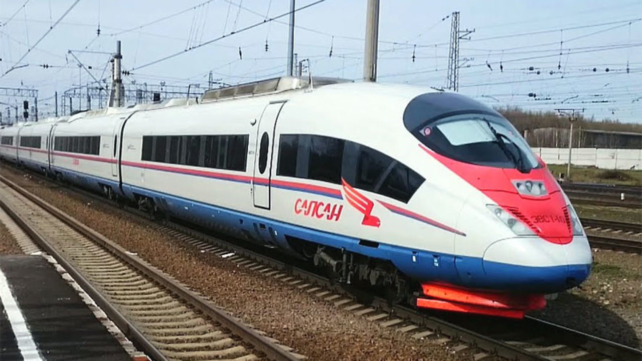 В Конаковском районе Тверской области высокоскоростной поезд