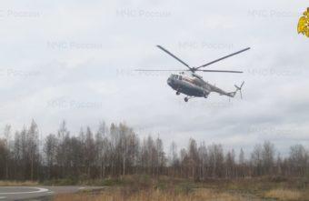 Женщину экстренно транспортировали на вертолёте в Тверь