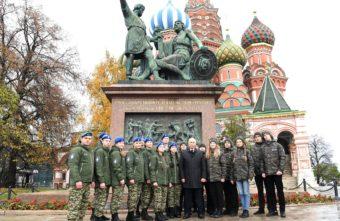 Тверская школьница встретила День народного единства вместе с Владимиром Путиным