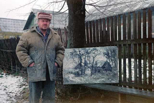 В Тверской области ушел из жизни художник-самоучка с мировым именем