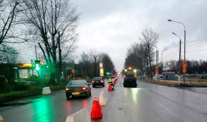 """""""Горбатая пробка"""": тверских водителей попросили потерпеть пару дней"""