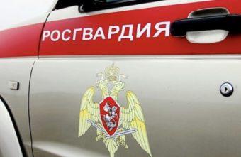 Грабитель выбежал из магазина в Тверской области на глазах у росгвардейцев