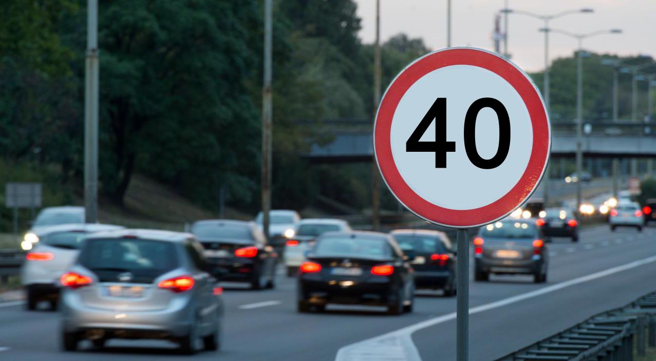 Тверских водителей хотят штрафовать за превышение скорости на один километр
