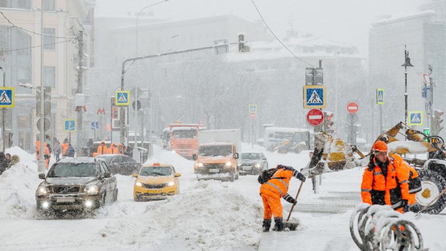 В Тверскую область идёт настоящая зима с суровыми морозами