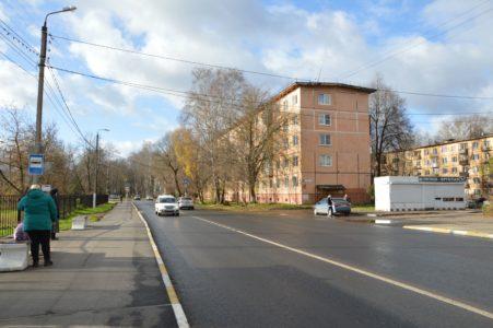В Твери завершили ремонт девяти улиц Победы