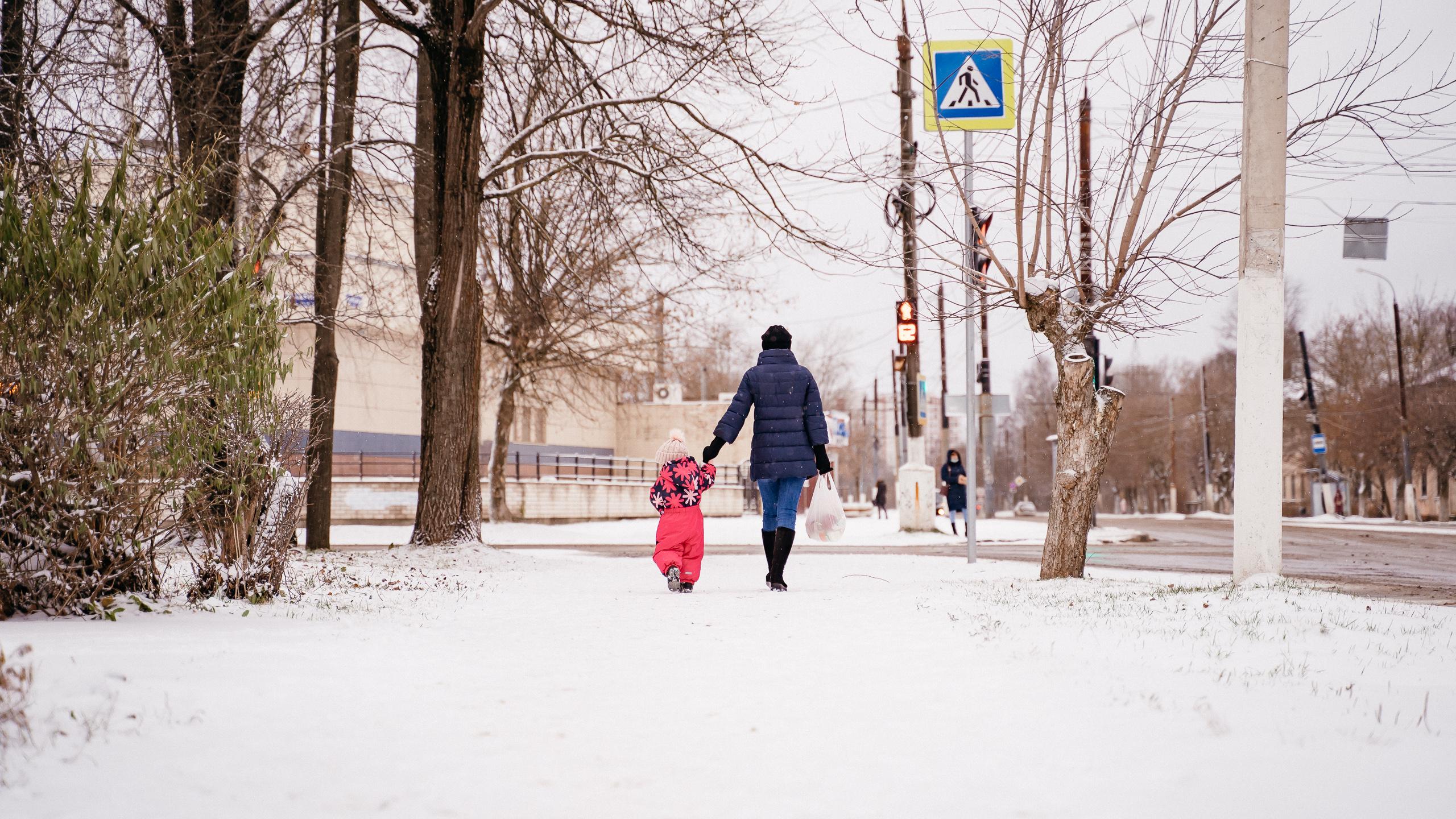 Много снега и дождя: в Тверской области все вновь растает