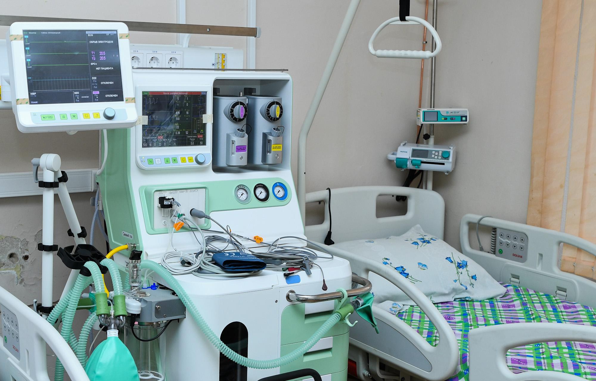 В Тверской области дополнительно вводят ещё 140 коек для больных с коронавирусом