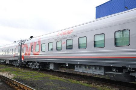 Из Твери отправили на Сахалин 18 современных вагонов