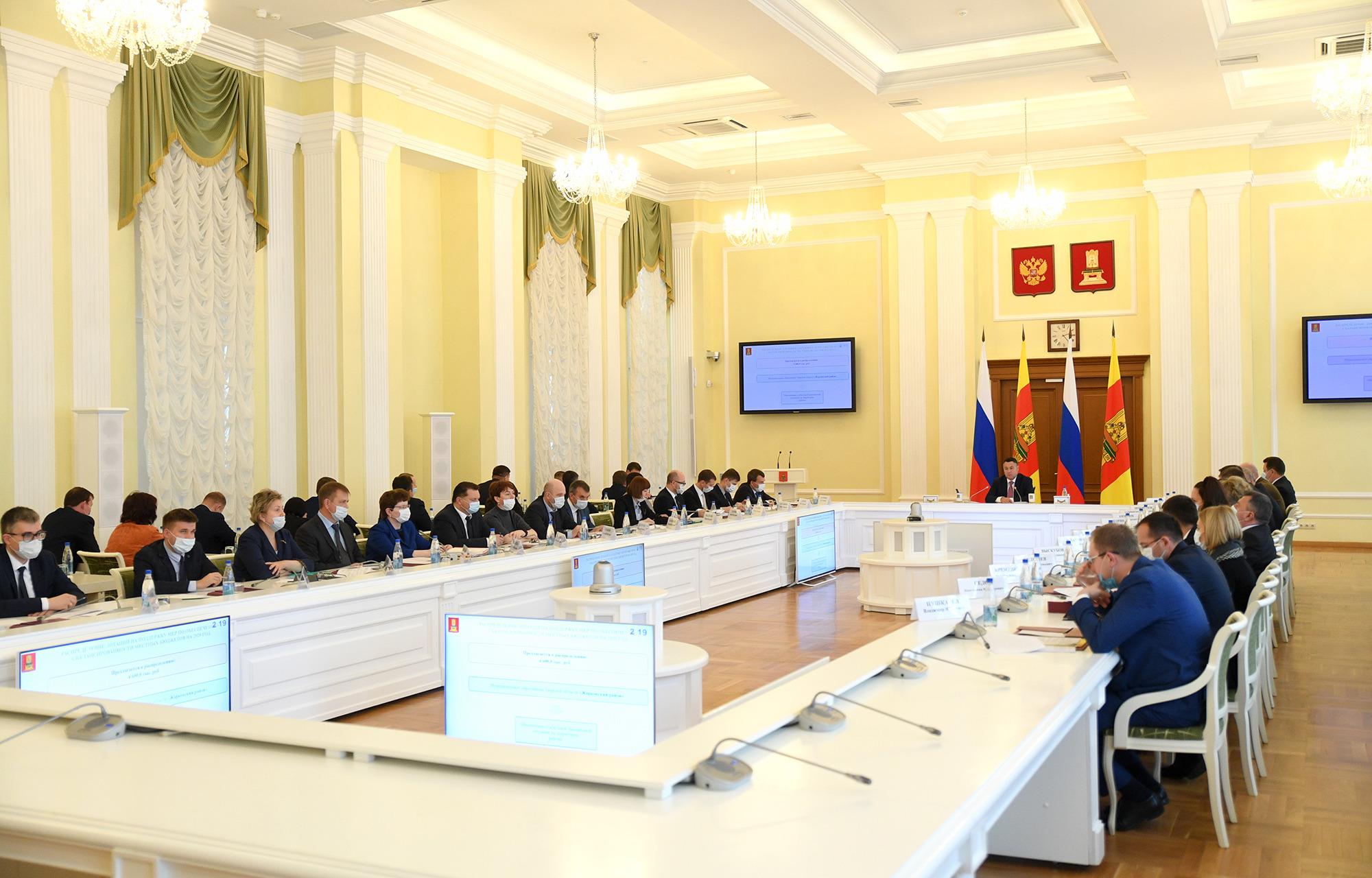 Маленьким муниципалитетам Тверской области выделят больше денег на газификацию