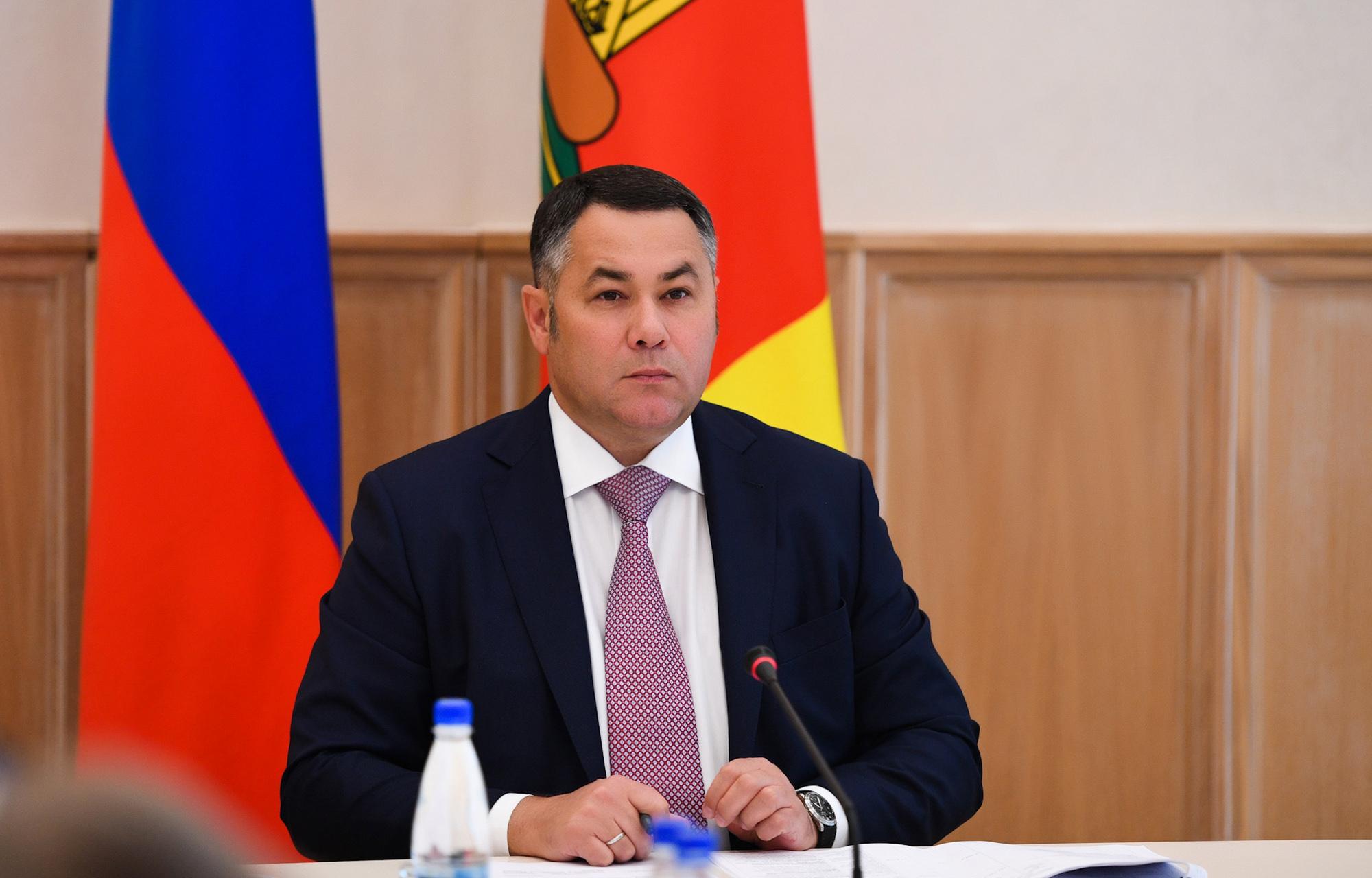 Игорь Руденя провел совещание с зампредами правительства Тверской области