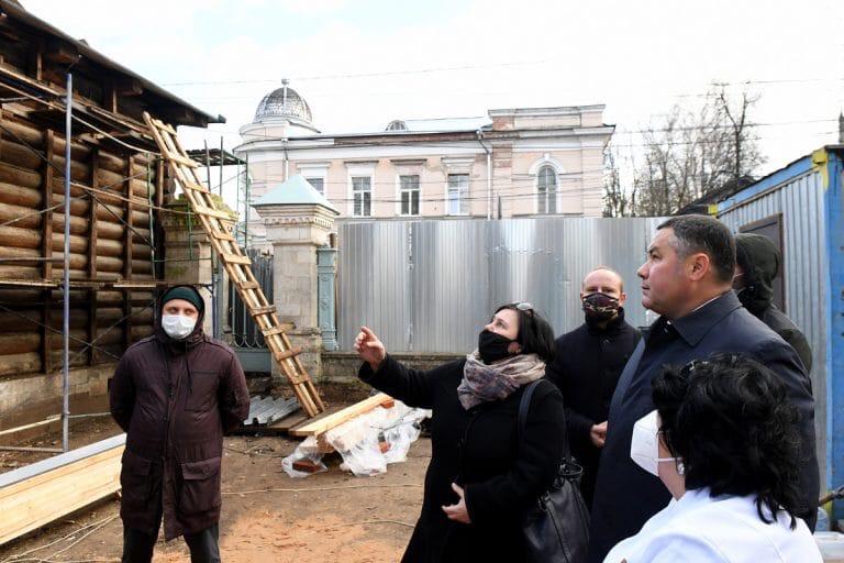 Тверской центр Аваева стал одним из самых современных памятников прошлого