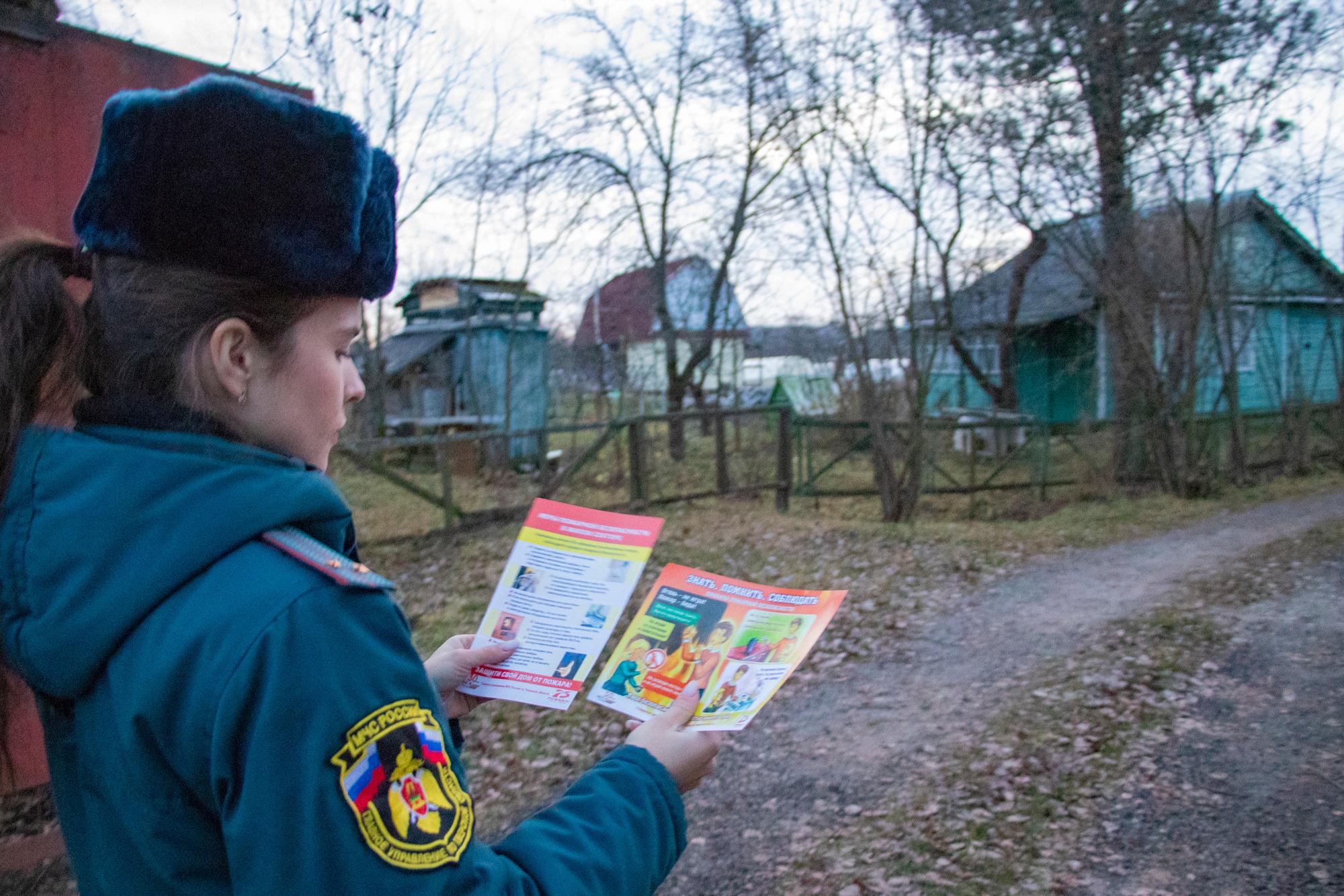 В домах многодетных семей в Тверской области ставят пожарные оповещатели