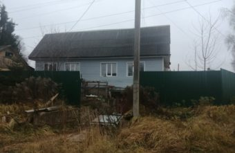 В Тверской области из-за оставленного обогревателя загорелся дом
