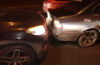 В Твери 15-летняя пассажирка пострадала в столкновении двух машин