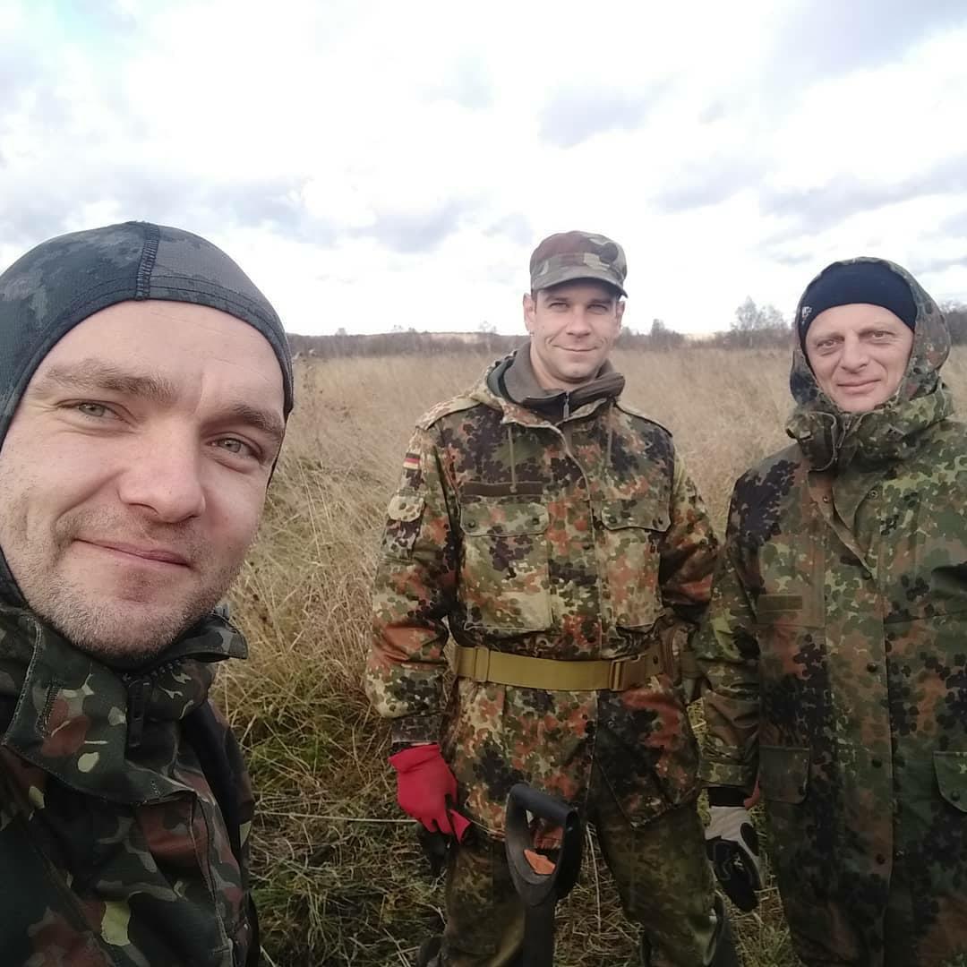 В Тверской области нашли останки неизвестных красноармейцев