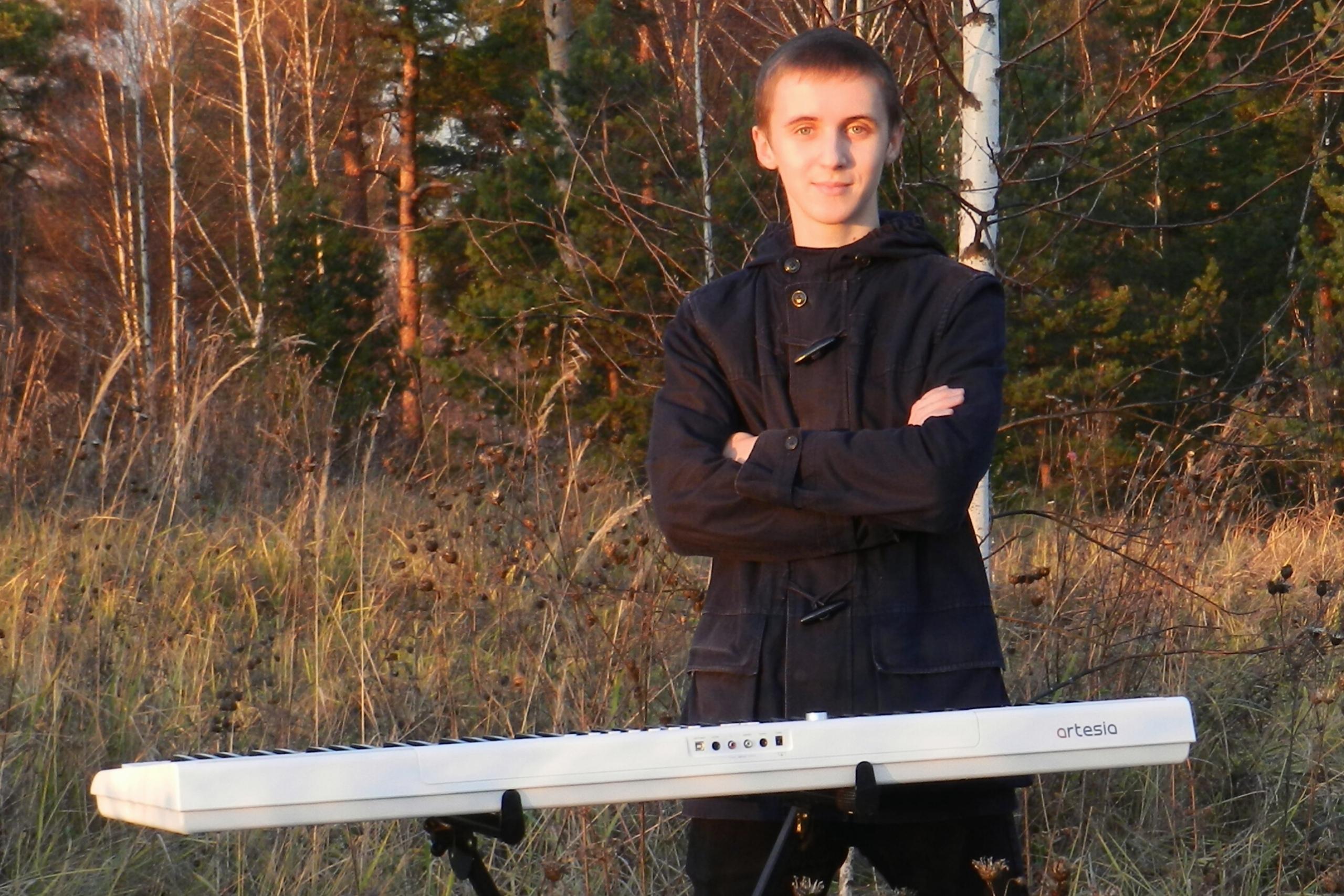 Воспитанник кимрской детской школы искусств сыграет в лесу музыку снега