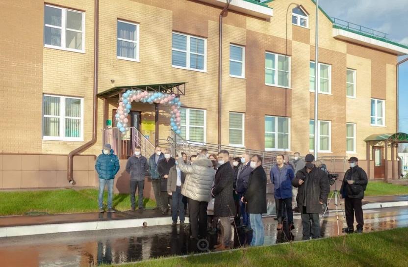 Под Тверью открыли экологичный детский сад для 80 ребят