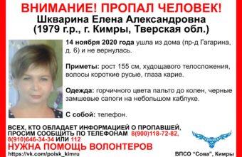 Пропавшую молодую женщину ищут в Тверской области