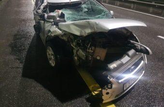 Пассажир иномарки получил рваные раны в ДТП в Тверской области