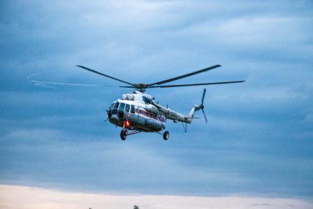 Пациента доставили в Тверь на вертолёте меньше чем за 2 часа