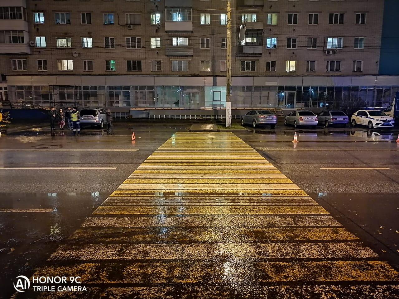 "На зебре в Твери под колёса ""Опеля"" попали три пешехода"