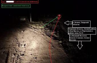 Пьяный водитель насмерть сбил пенсионера в поле в Тверской области