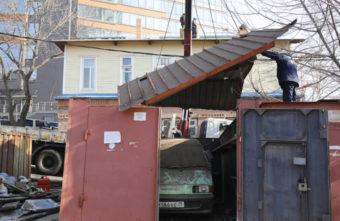 В трёх районах Твери начинается масштабный снос гаражей