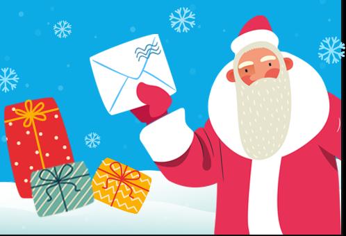Открытку к Новому году жители Тверской области могут отправить онлайн