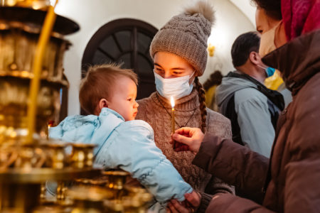 В Воскресенском кафедральном соборе Твери прошла божественная литургия