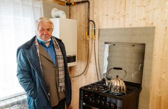 Газ пришел в деревню Башарино Тверской области