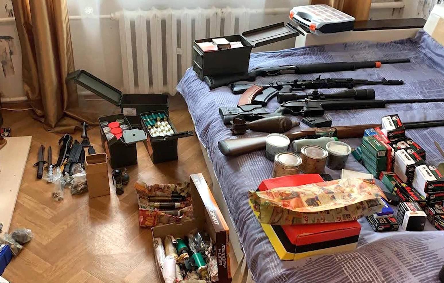 В Тверской области задержали подпольных оружейников