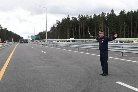 Игорь Руденя поблагодарил главу государства за федеральную поддержку при строительстве трассы М-11