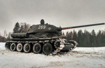 В Тверской области продается танк с оригинальным мотором 1944 года