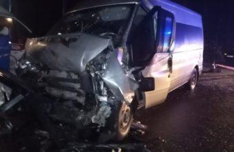Появились фото ДТП в Тверской области, в котором пострадали 11 человек