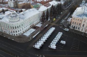 Тверская область получила 22 новых автомобиля скорой медицинской помощи