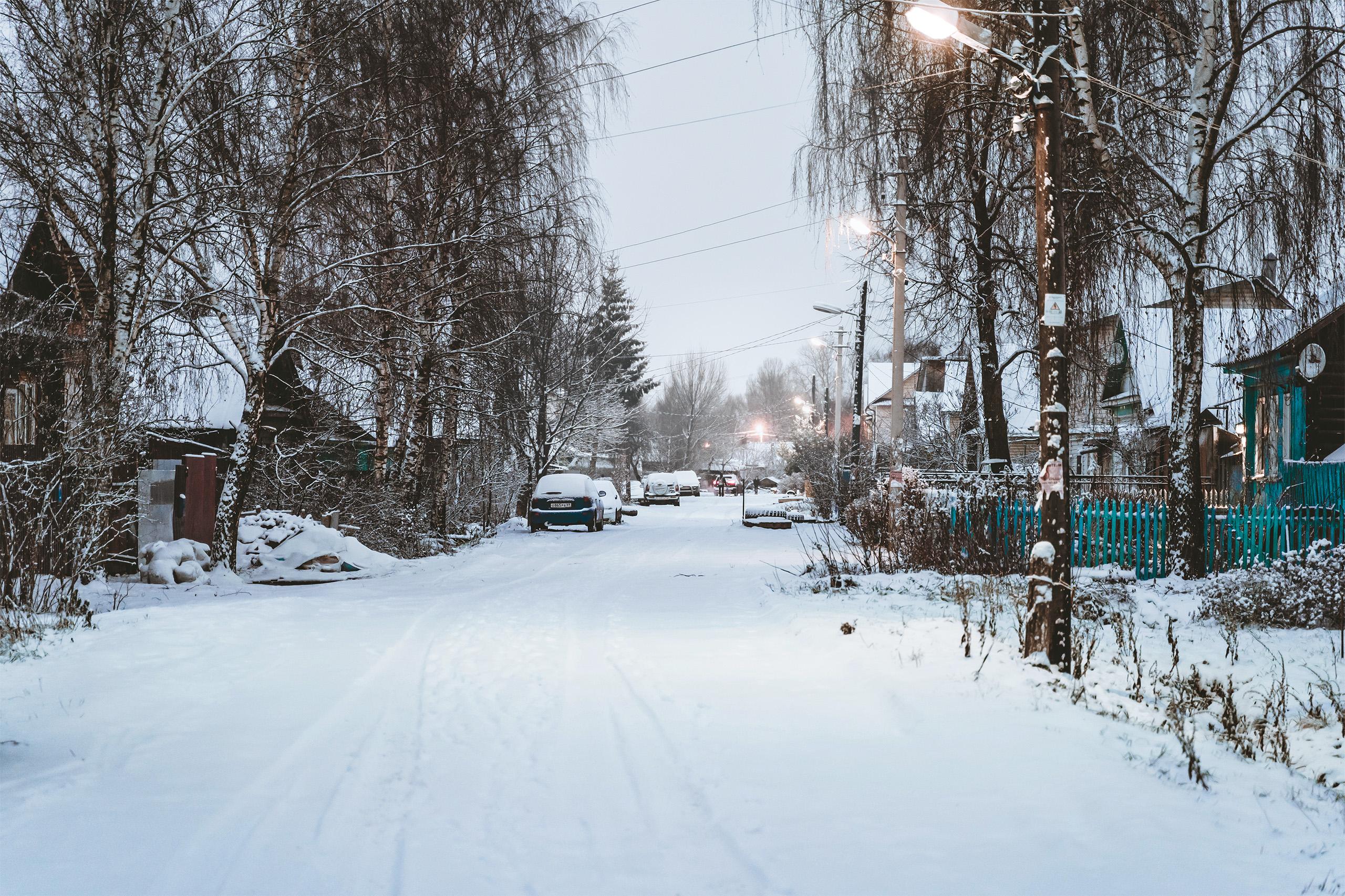 В Тверскую область приходит зима и календарная, и настоящая