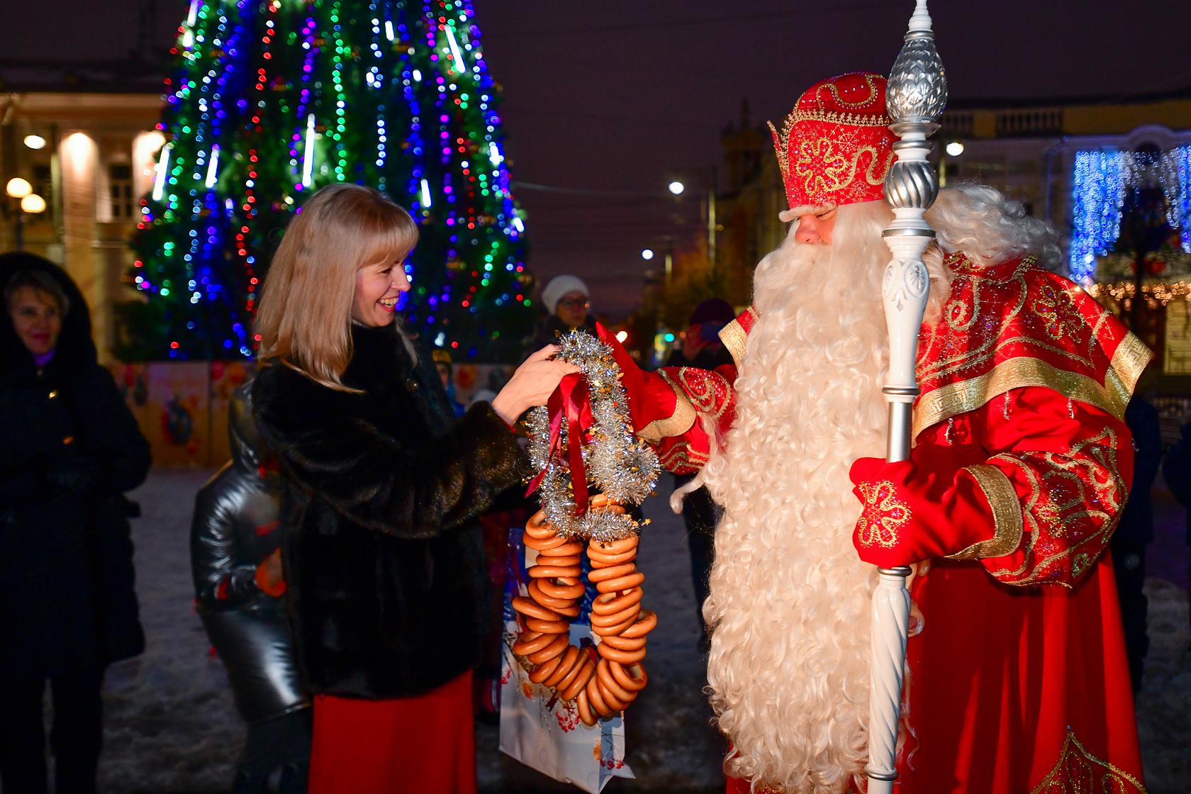 Главный Дед Мороз страны посетил комплекс отдыха «Завидово»