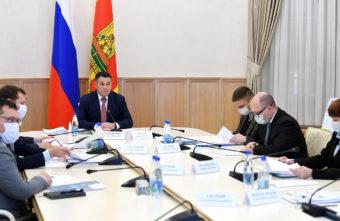 Игорь Руденя поручил обеспечить выполнение задач, обозначенных Президентом Владимиром Путиным