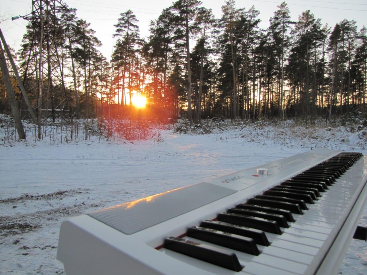 Солнце заставило музыканта из Тверской области поменять песню