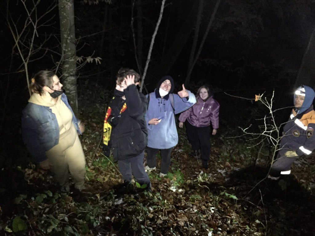 Зачем заблудившиеся тверские туристы пошли в горы Сочи