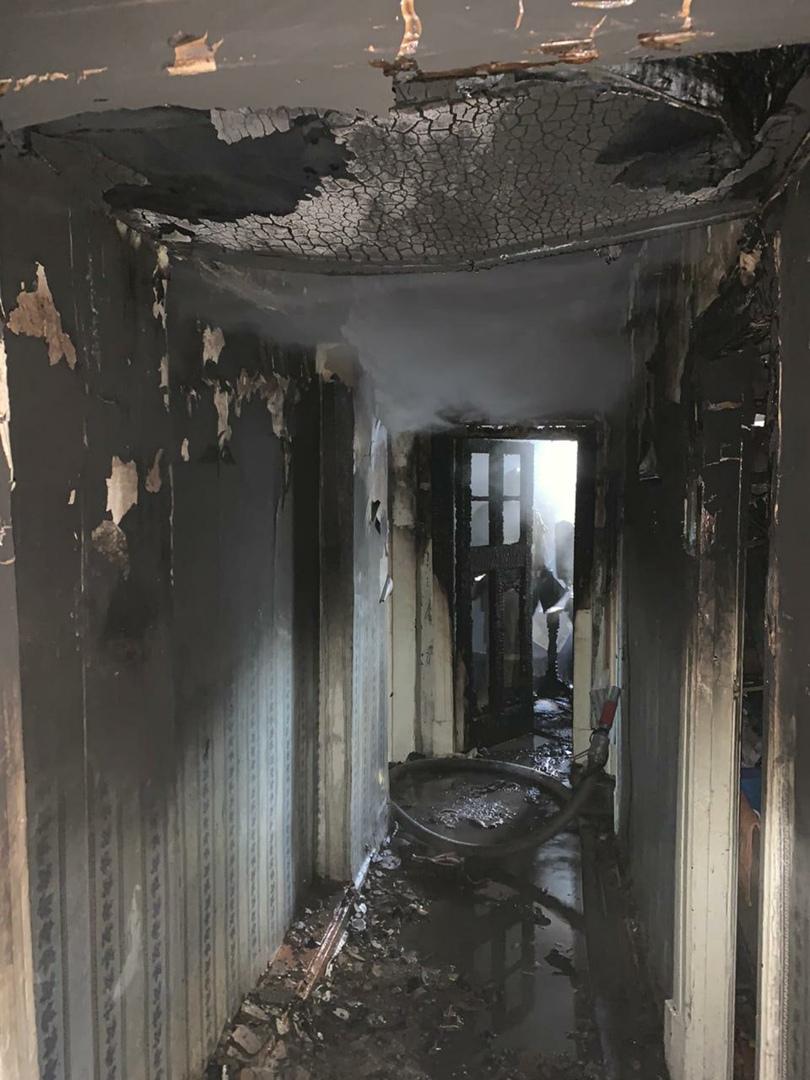 Ребёнок случайно сжёг квартиру в Тверской области
