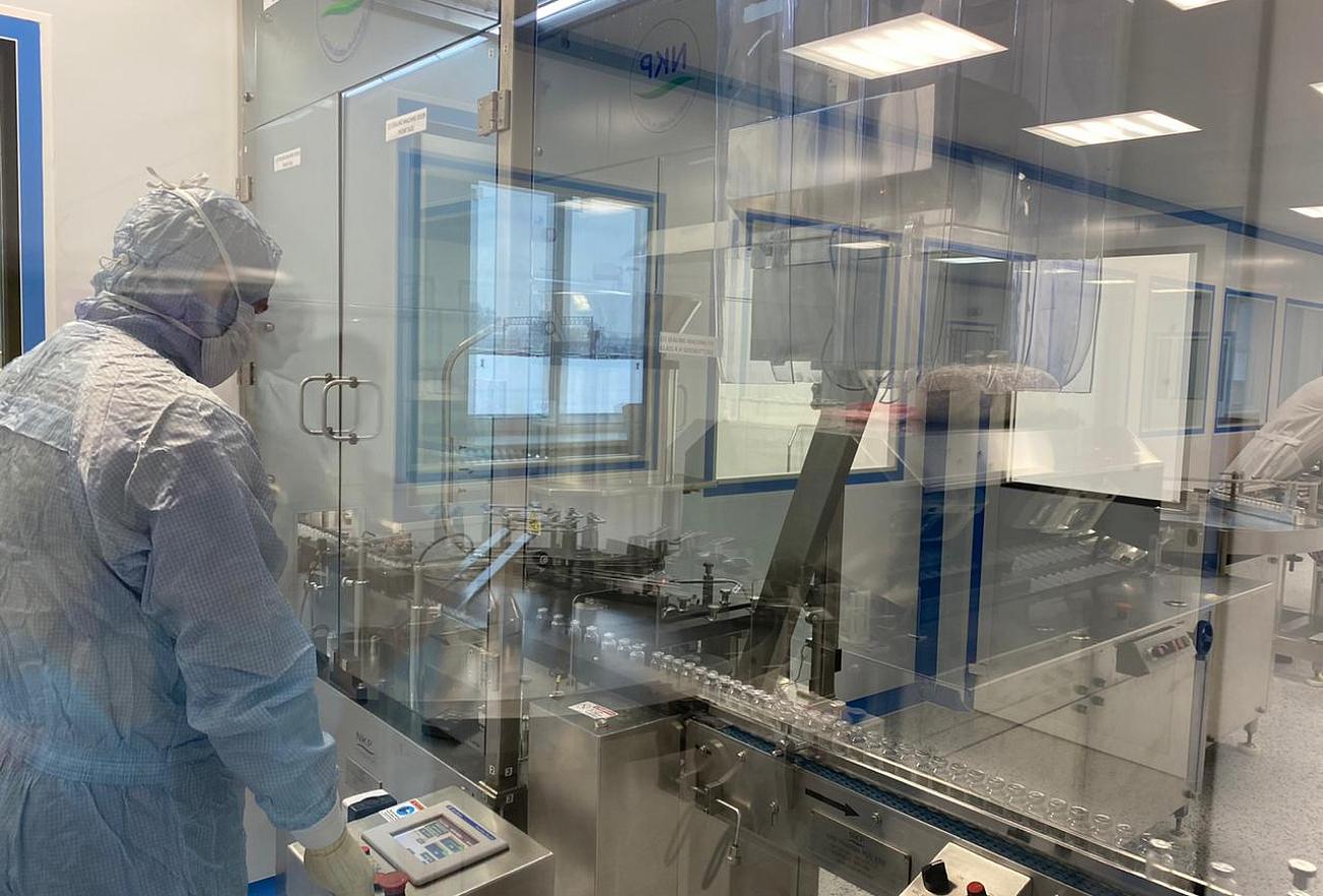 Лекарственный препарат, использующийся при лечении коронавируса, начали производить в Тверской области
