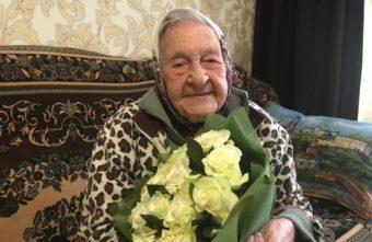 Тверская участница войны отметила 100-летний юбилей