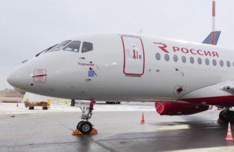 """Авиакомпания """"Россия"""" назвала свой новый лайнер в честь Торжка"""