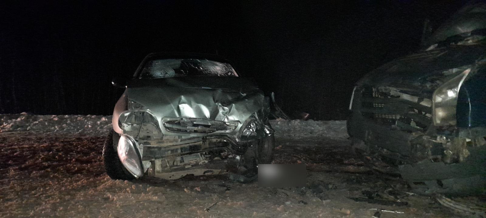 Появились подробности лобового столкновения автомобилей в Тверской области